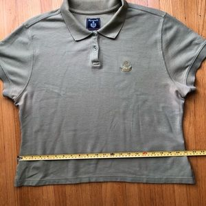 Faconnable Polo light olive color